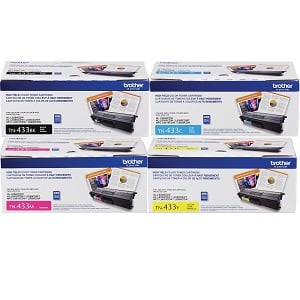 Brother TN433 Toner Cartridge Set