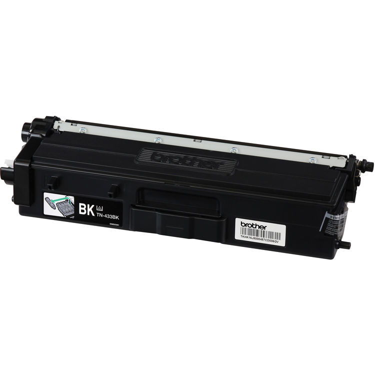 Compatible Brother TN433BK Black Toner Cartridge