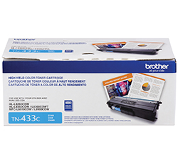 Brother TN433C Cyan Toner Cartridge