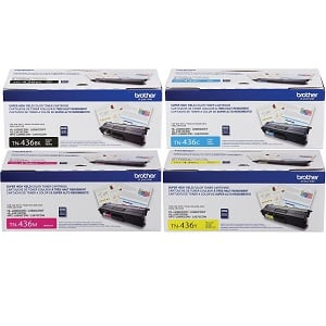 Brother TN436 Toner Cartridge Set