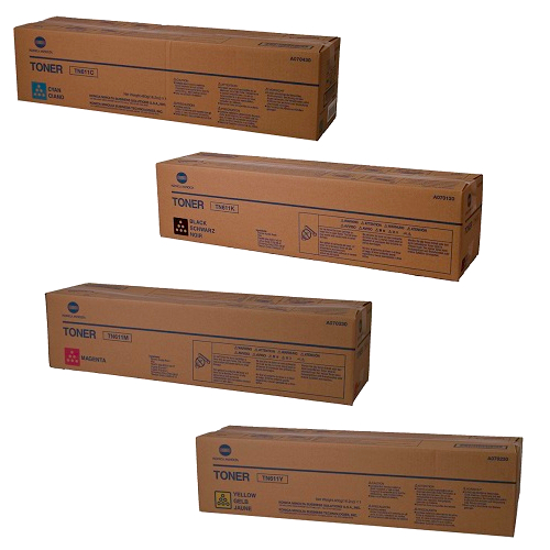 Konica Minolta TN611 Toner Cartridge Set