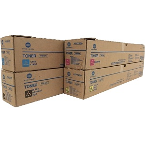Konica Minolta TN619 Toner Cartridge Set