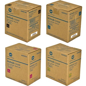 Konica Minolta TNP50 Toner Cartridge Set