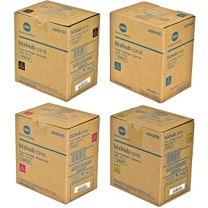 Konica Minolta TNP51 Toner Cartridge Set