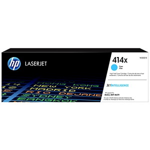 HP W2021X 414X Cyan Toner Cartridge