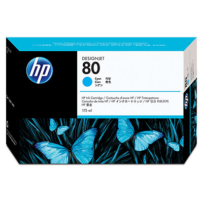 HP C4846A Cyan Ink Cartridge