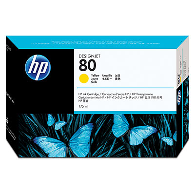 HP C4873A Yellow Ink Cartridge