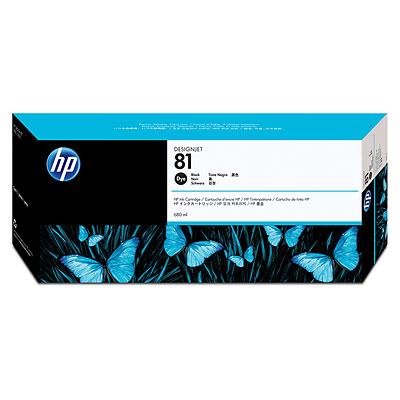 HP C4930A Black Dye Ink Cartridge