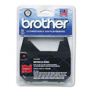 Brother 1230 Black Film Ribbon 2-Pack