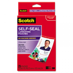Scotch ls851g self sealing laminating pouches 95 mil 2 716 x 3 7 scotch ls851g self sealing laminating pouches 95 mil 2 716 x 3 78 business card colourmoves