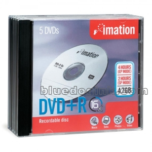 Imation 17193 DVD+R Discs