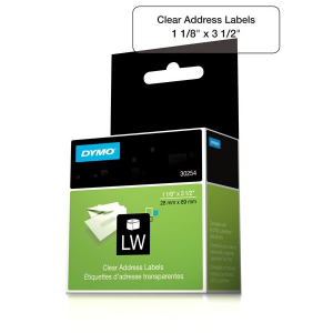 Dymo 30254 Clear Address Labels