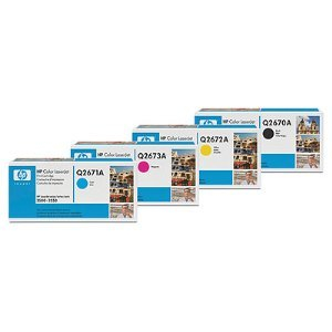 HP 309A Toner Cartridge Bundle