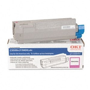 Okidata 43324402 Magenta Toner Cartridge