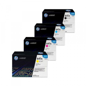 HP 641A Toner Cartridge Bundle