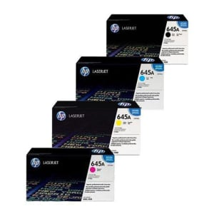 HP 645A Toner Cartridge Bundle