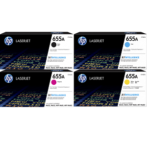 HP 655A Toner Cartridge Set