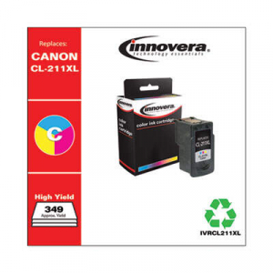 Innovera CL-211XL 2975B001 High-Yield Tri-Color Ink Cartridge