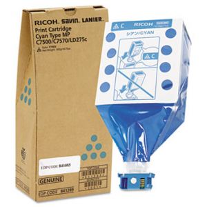 Ricoh 841289 Cyan Toner Cartridge