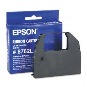 Epson 8762L Black Ribbon Cartridge