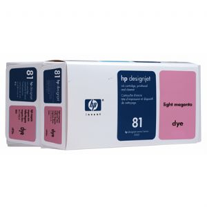 HP 81 Light Magenta Dye Value Pack