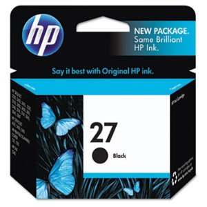 HP C8727AN Black Ink Cartridge