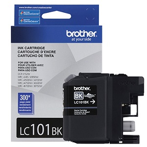 Brother LC101BK Black Ink Cartridge