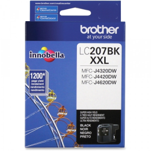 Brother LC207BK Black Ink Cartridge