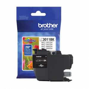 Brother LC3011BK Black Ink Cartridge