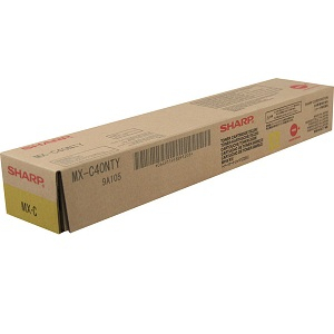 Sharp MX-C40NTY Yellow Toner Cartridge