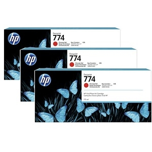 HP P2W04A Chromatic Red Ink Cartridge Multipack