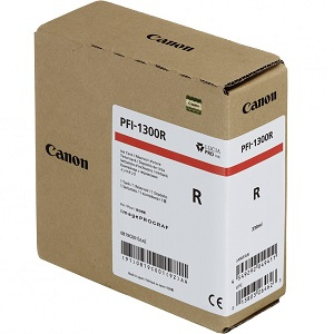 Canon PFI-1300R Red Ink Tank