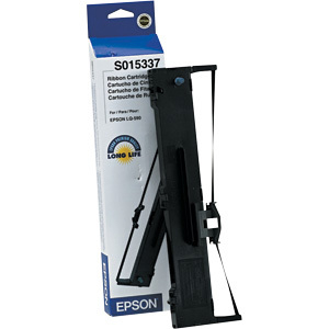 Epson S015337 Black Ribbon Cartridge