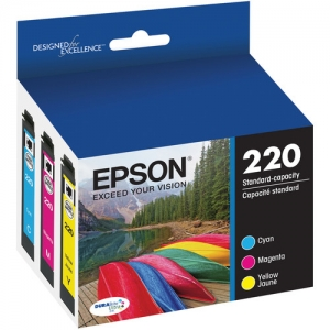 Epson T220520 Color Ink Cartridge Multi-Pack