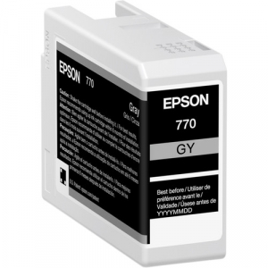 Epson T770 T770720 Gray Ink Cartridge