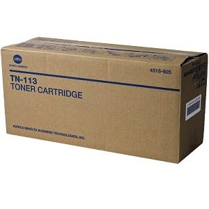 Konica Minolta TN113 Black Toner Cartridge
