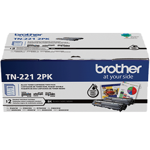 Brother TN2212PK Black Toner Cartridge Twin Pack