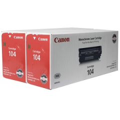 Canon 104 Black Toner Value Pack