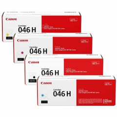 Canon 046H Toner Cartridge Set