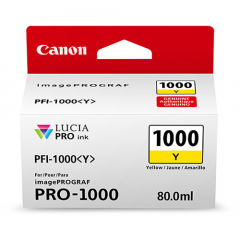 Canon PFI-1000Y Yellow Ink Tank (0549C002)