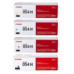 Canon 054H Toner Cartridge Set
