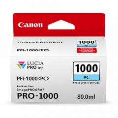 Canon PFI-1000PC Photo Cyan Ink Tank (0550C002)