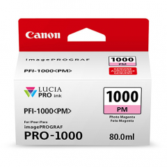 Canon PFI-1000PM Photo Magenta Ink Tank (0551C002)