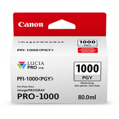 Canon PFI-1000PGY Photo Gray Ink Tank (0553C002)