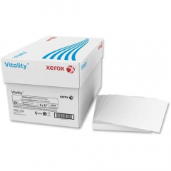"Xerox Vitality Multipurpose Perforated Paper - Vertical Perforation, 1/2"" from left (3R4160)"