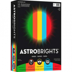 Astrobrights Inkjet, Laser Print Colored Paper - 30% Recycled (22226)