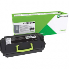 Lexmark Original Toner Cartridge - Black (52D0H08)