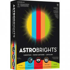 Astrobrights Inkjet, Laser Print Printable Multipurpose Card Stock (98751)