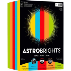 Astrobrights Astro Inkjet, Laser Print Colored Paper (99611)