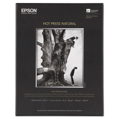 Epson S042317 Hot Press Natural Fine Art Paper